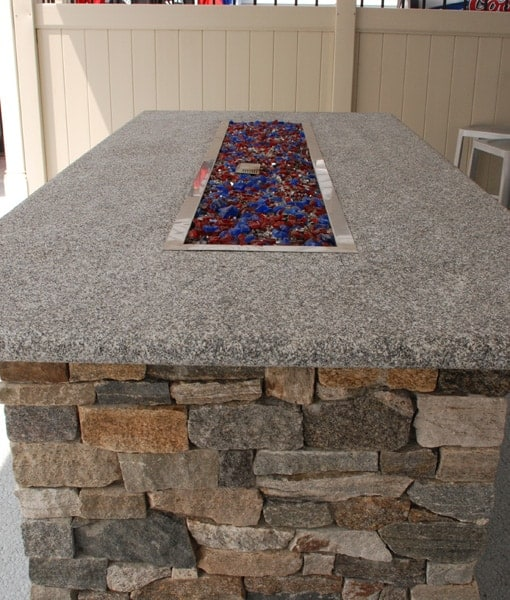 Custom Gas Fire Pits Propane Natural Gas Fire Pits