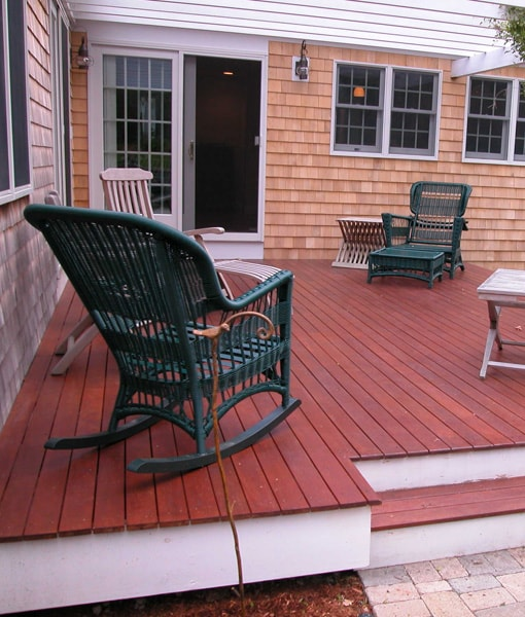 red balau porch