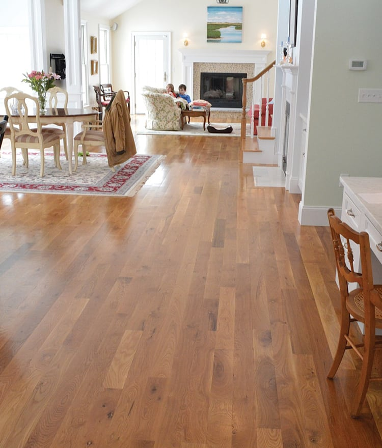 White oak unfinished hardwood flooring wood floors for Unfinished hardwood floors