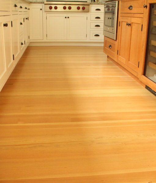 clear fir kitchen