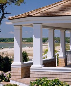 pvc trim on porch columns