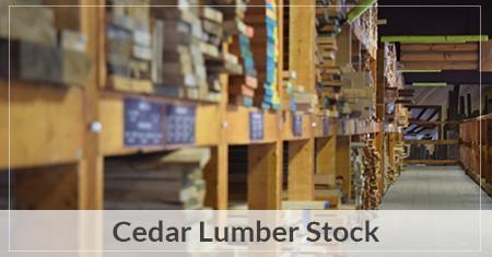 cedar lumber wood patterns supplies