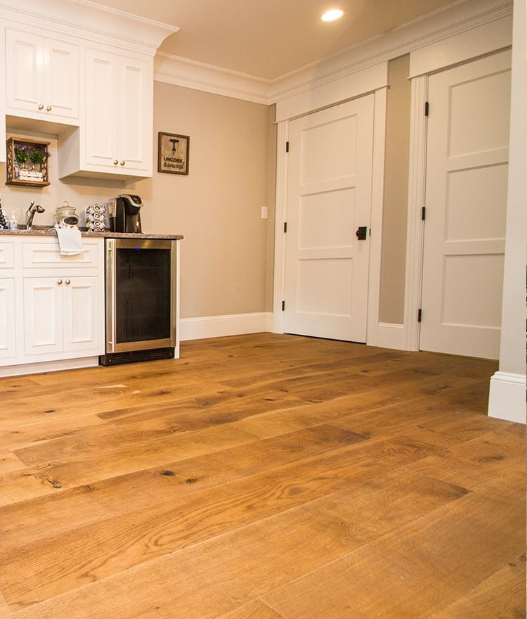 how to clean oak engineered hardwood