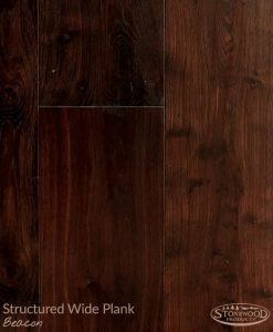 Beacon Structured Wide Plank Engineered Hard Wood Flooring