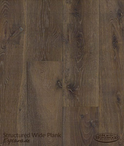 Engineered Hardwood Flooring Structured Wide Plank Esplanade