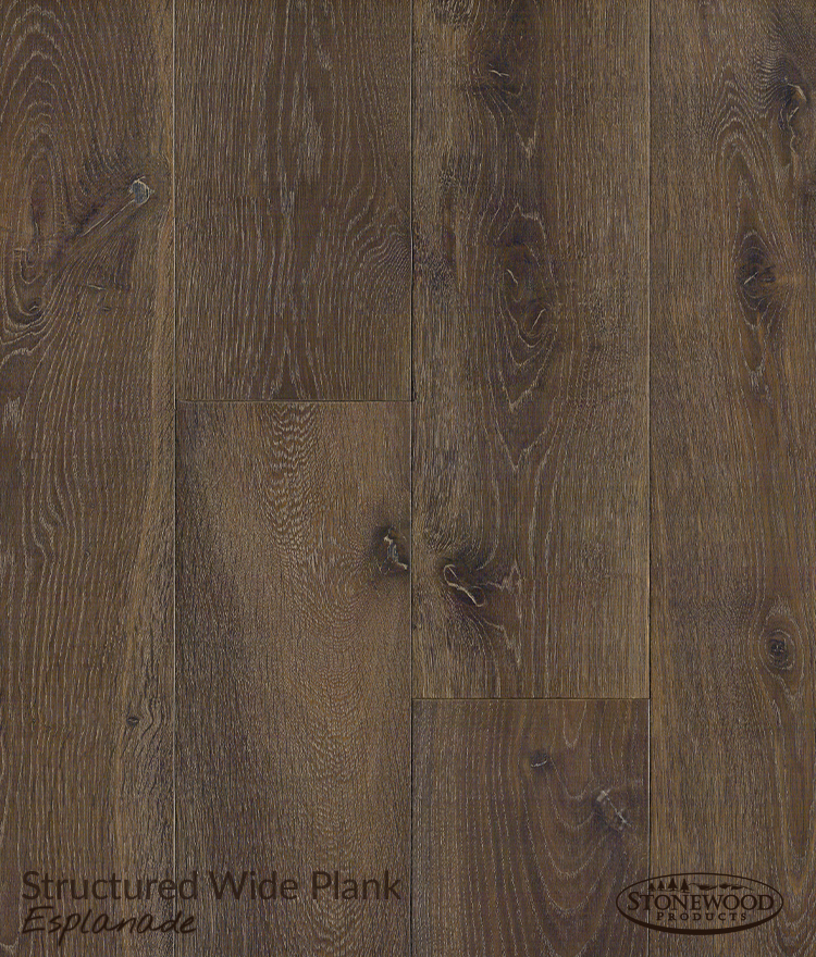 Engineered Hardwood Flooring Structured Wide Plank Esplanade