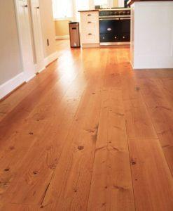 pine wood floor