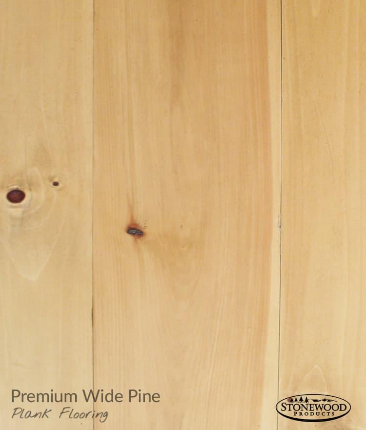Tongue And Groove Flooring: Premium Pine Flooring Wide
