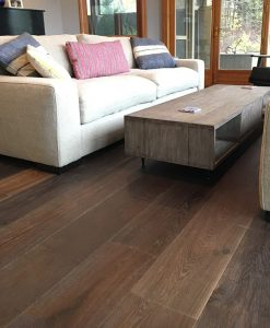 wide plank hardwood floor