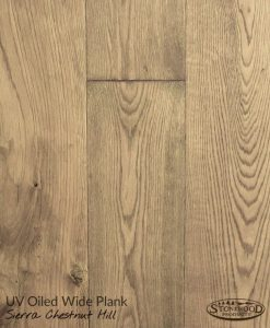 Wide Plank UV Oiled Prefinished Sierra Chestnut Hill Structured Engineered Hardwood Floors