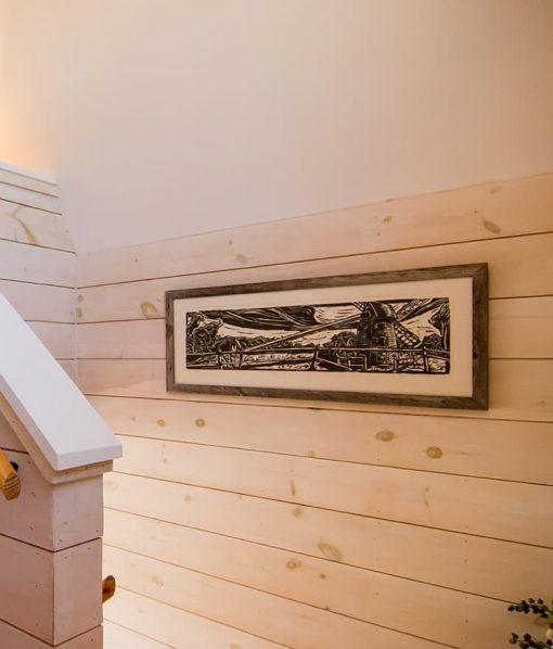 knotty pine shiplap wallboardin paneling