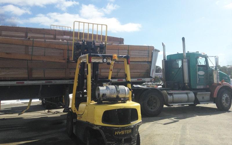pine-lumber-truck-loading-Cape-Cod-MA