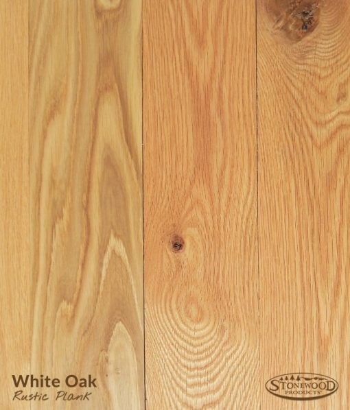rustic plank oak