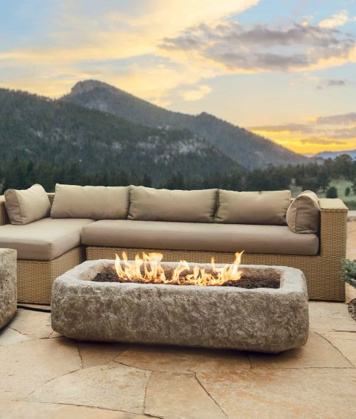 antique stone fire pit