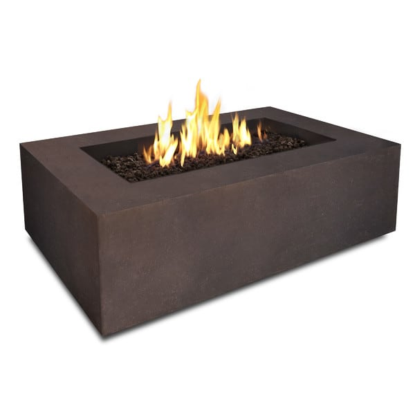 Rectangle fire pit cape cod marthas vineyard ct ri for Rectangular stone fire pit