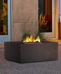 square fire pit