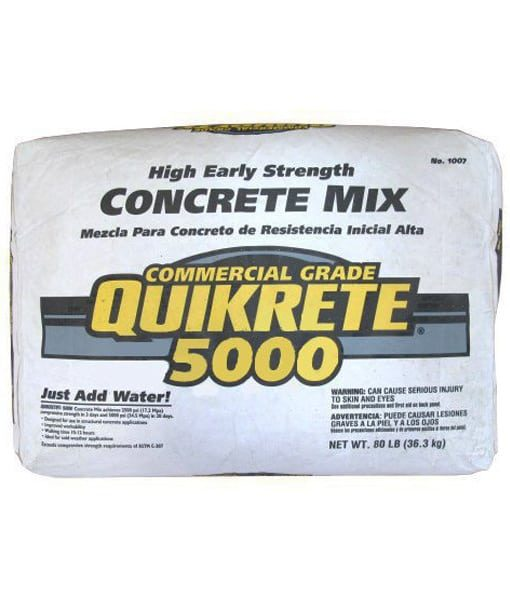 concrete mix - masonry supplies