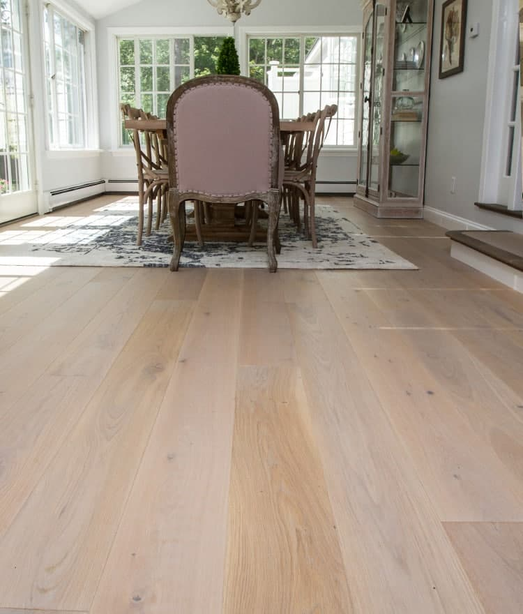 Wide plank engineered hardwood flooring fogg stonewood for Cape cod flooring