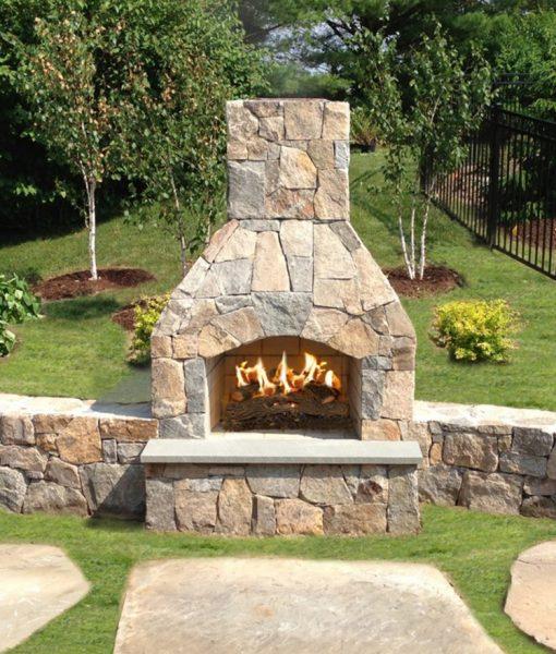 outdoor fireplace kit Cape Cod MA