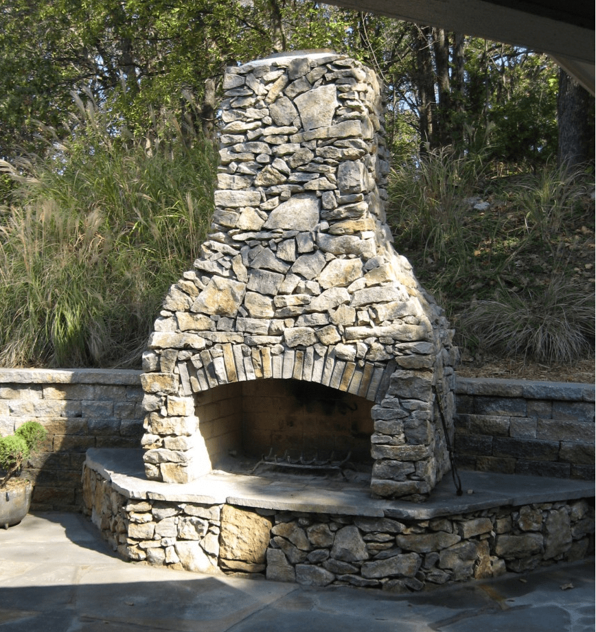 Small outdoor fireplace kits pictures to pin on pinterest for Where to buy outdoor fireplace