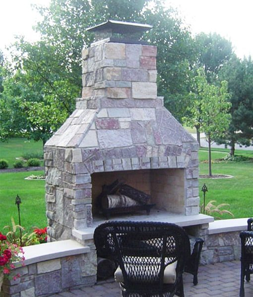 Outdoor Fireplaces Diy Kits Plans