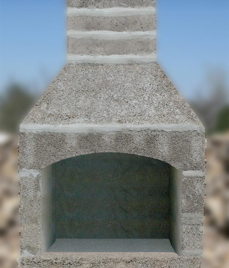 outdoor fireplace kit Cape Cod Nantucket Vineyard