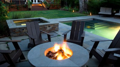 outdoor fire pit cape cod MA