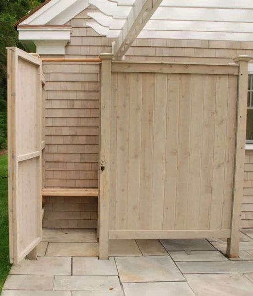 outdoor shower kit enclosure
