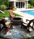 stone-fire-pit-Cape-Cod-pool-wood-powered-MA-RI-CT