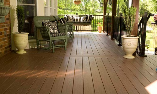 fir decking Cape Cod