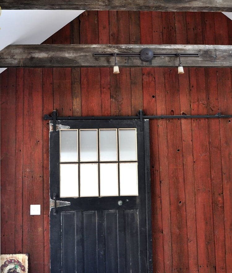 Barn wood reclaimed red white natural authentic