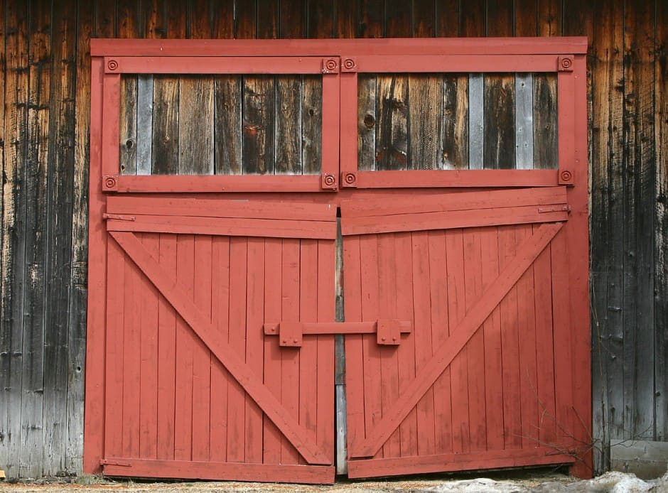 Red Barn Wood barn wood reclaimed | red white natural | authentic