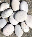 white beach pebbles bulk