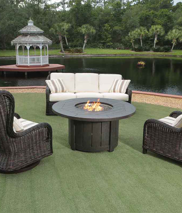 Round Luxury Fire Pits