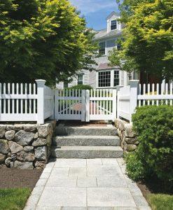 granite stone walkway