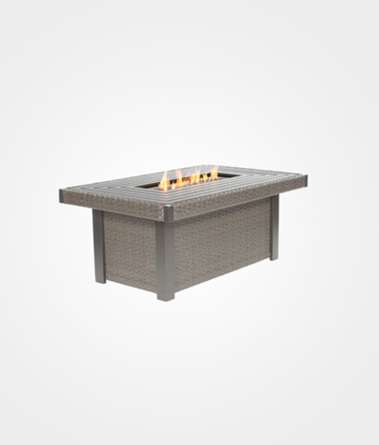 Rectangular outdoor fire pits ebel nantucket cape cod for Rectangular stone fire pit