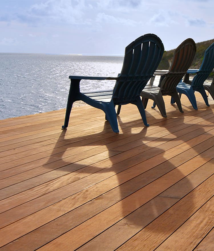 Prefinished mahogany decking cape cod boston ct ri for Pre made timber decking