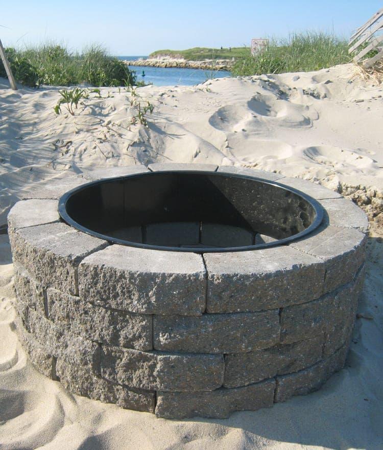 Cape Cod Fire Pits Wood Burning Fire Pit Kit Nantucket