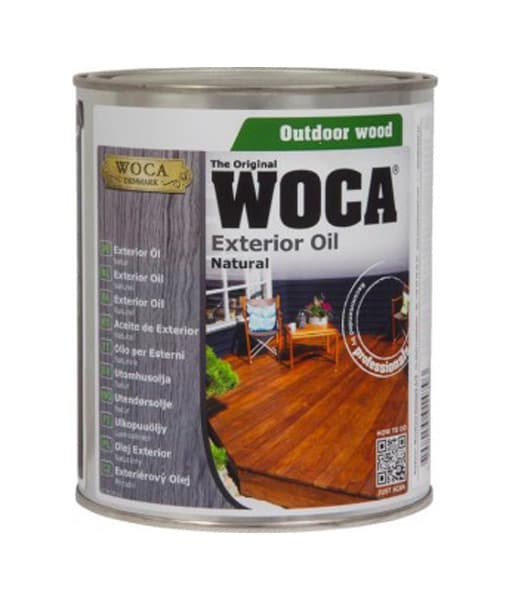 Woca exterior decking oil can 2.5l