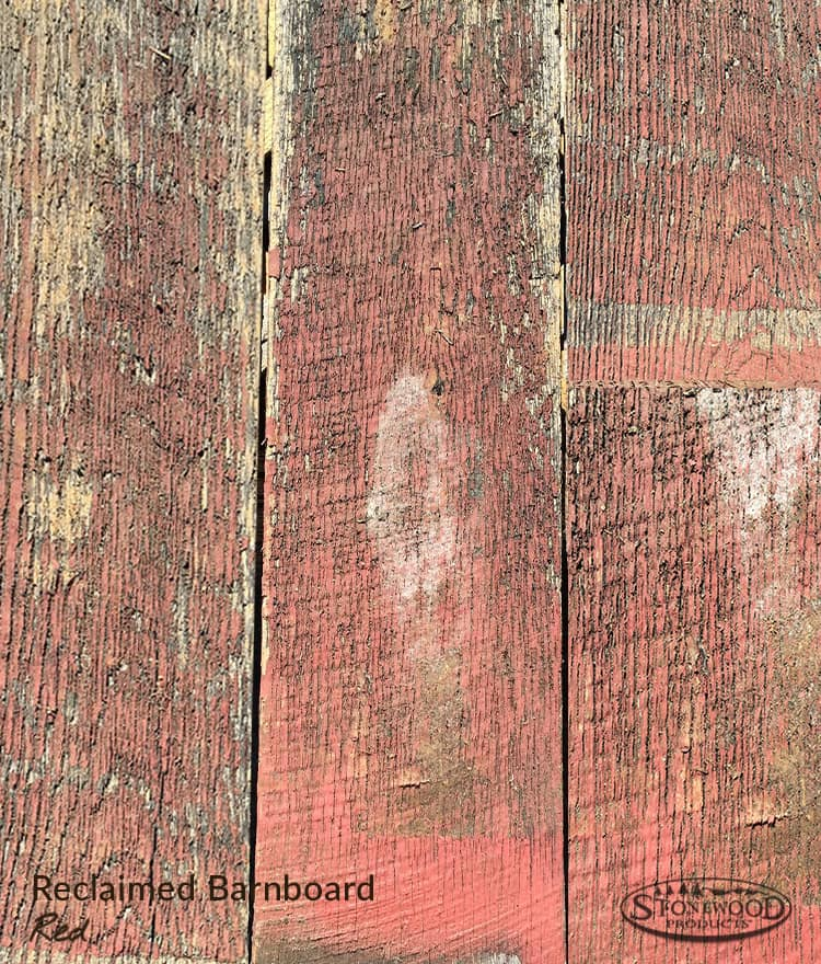 Barn Wood Reclaimed | Red White Natural | Authentic