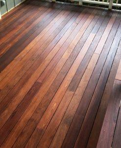 mahogany deck oil WOCA exterior finish