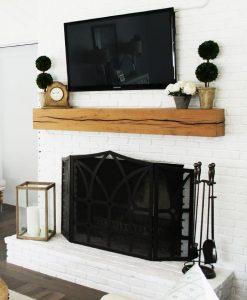 wood-mantel