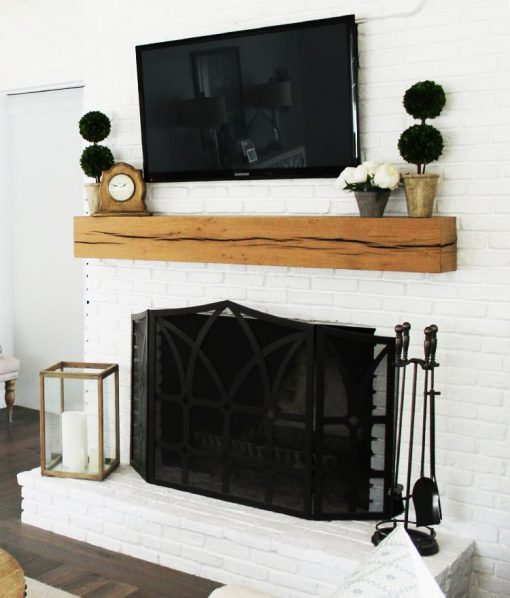 wood-mantel