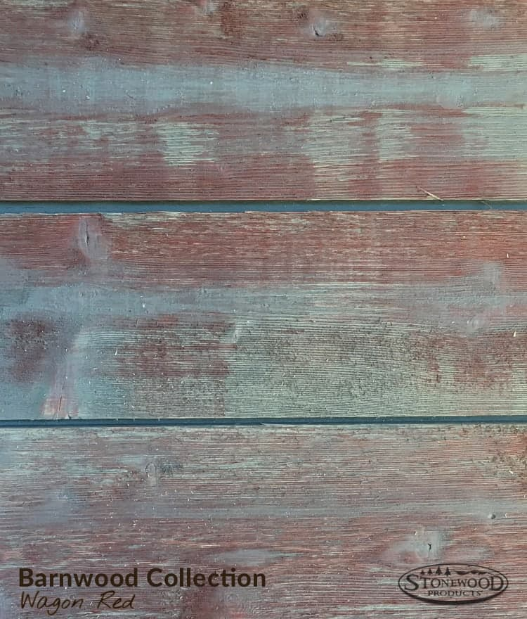 Genial Red Barnwood Wallboarding