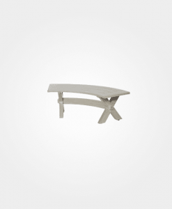 Ebel Portofino Outdoor Curved Bench