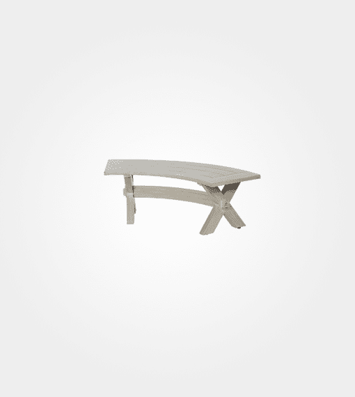 Ebel Portofino Outdoor Curved Bench