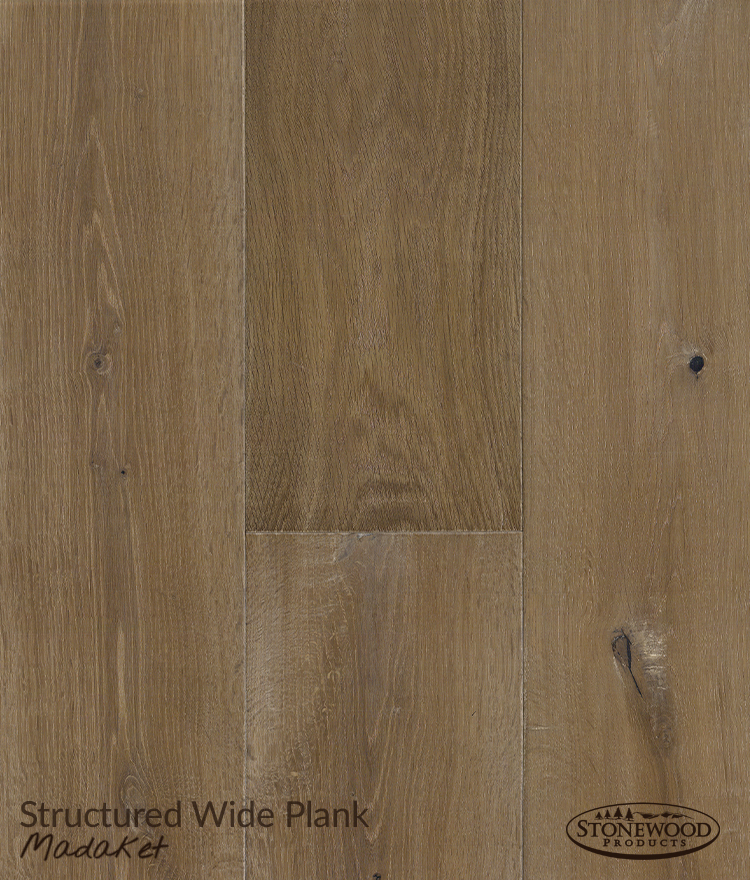 Engineered Wood Flooring, Structured Wide Plank Madaket