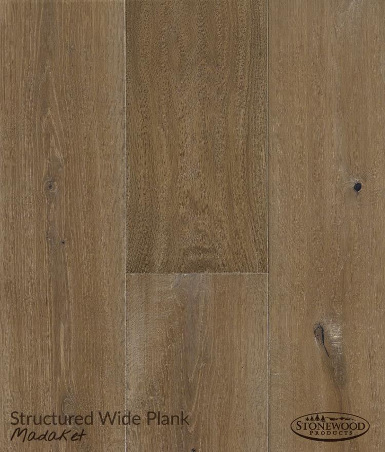 Engineered Wood Flooring, Structured Wide Plank Madaket