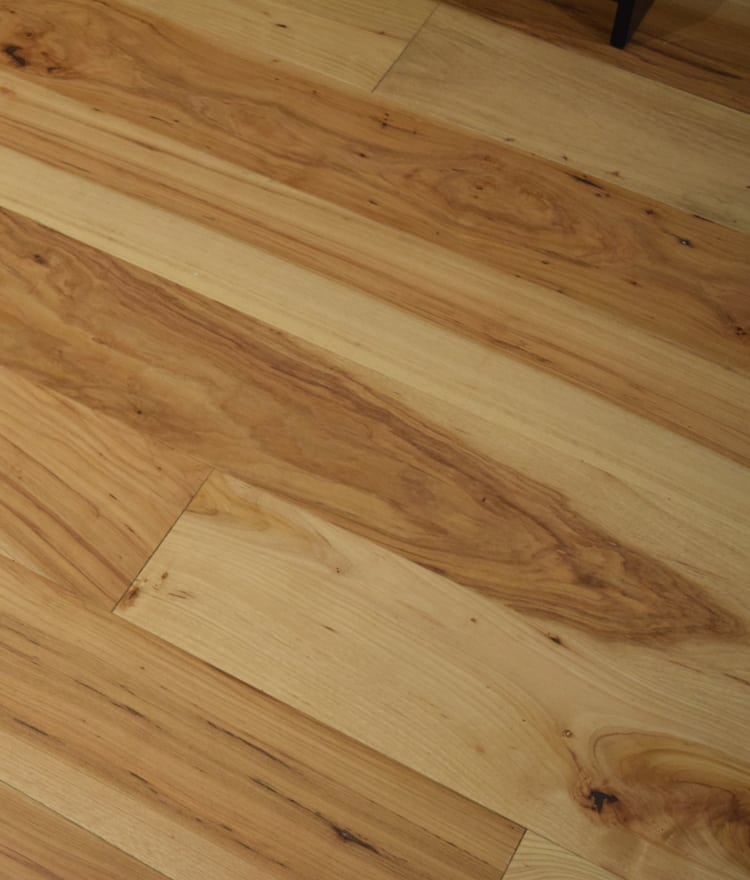 Engineered Wide Plank Flooring Hickory Pecan Stonewood