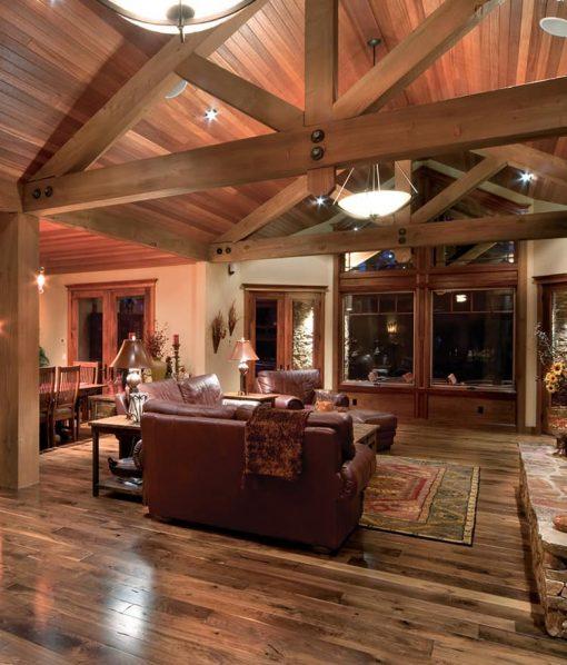 prefinished walnut floor